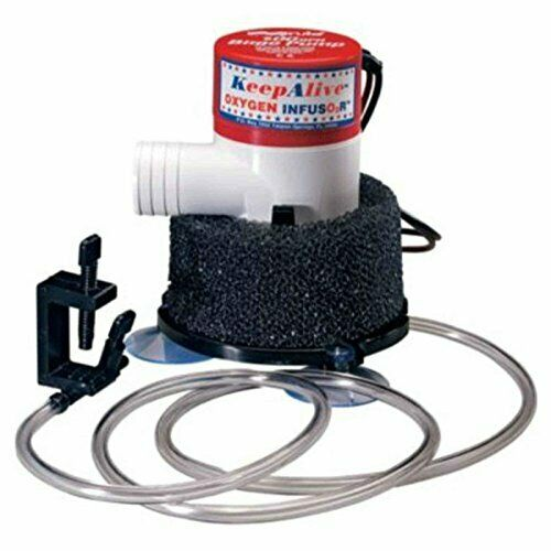 Portable Sturdy KA500 Sauerstoff Infusor Pump w Plastic Air Tube Aerates Salt Water