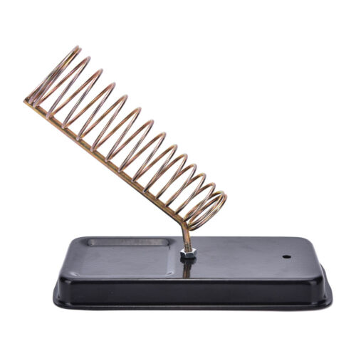 Detachable Metal Base Soldering Iron Gun Holder Stand Support Station S!YH