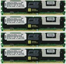 16GB (4X4GB) DDR2 MEMORY RAM PC2-5300F ECC FBDIMM DIMM ***SERVER MEMORY*****