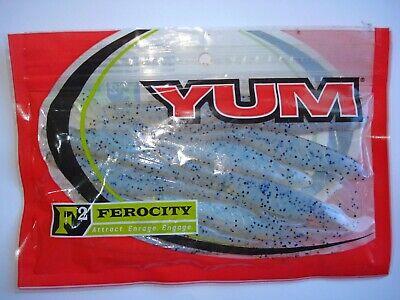 Zander Gummifisch Raubfische 2Stk.YUM Houdini Shad 13,5cm 9gr Barsch Köder