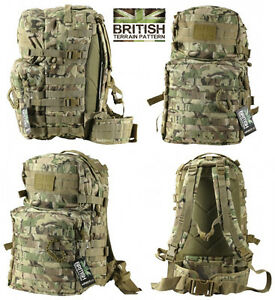 Army-Combat-Military-Rucksack-Back-Pack-Molle-40L-40-Litre-Day-BTP-Backpack-New
