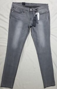 Grey Jeans L34 W33 95 Skinny Revel Rrp Femme Basse Taille Levi's RwTEfq5W