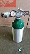 M9 Medical Oxygen Cylinder Tank Empty With Oxygen Regulator 5