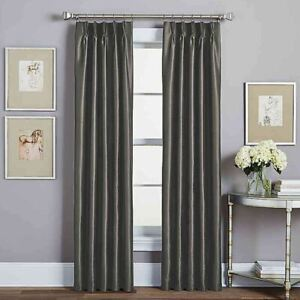 Spellbound Pinch Pleat 63 Quot Rod Pocket Lined Window Curtain