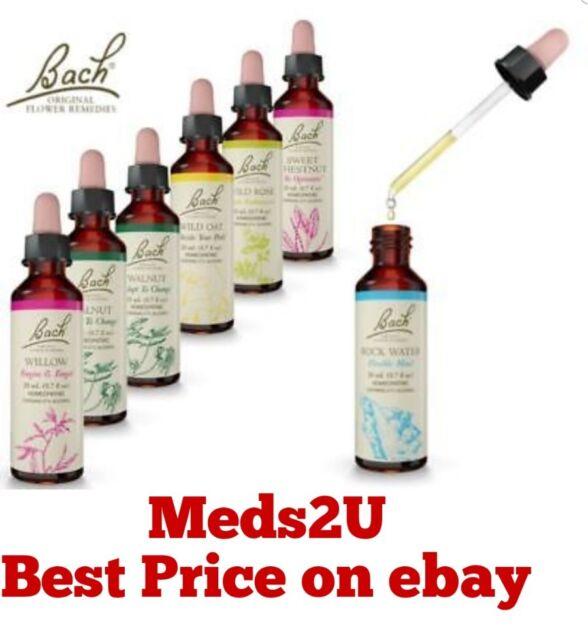 Bach Original Flower Remedies White Chestnut 20ml Ebay