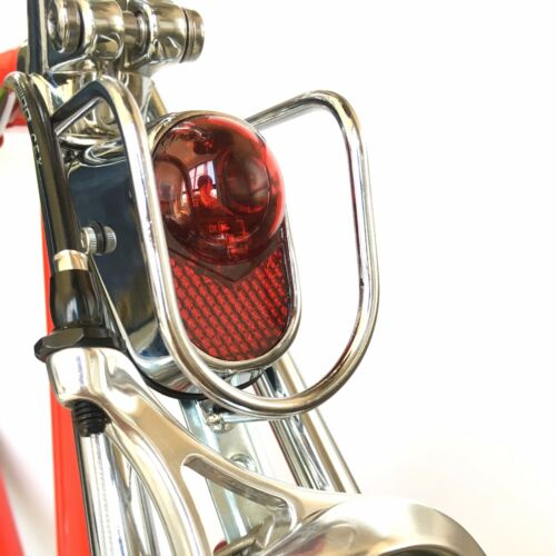 Still Vintage bicycle LED Classic rear Bicycle rear light steel city road bike