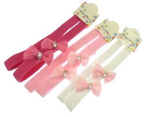 Baby Flower Kylie Headbands Stretch kylie bands with flower design 4cm wide