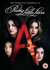 PRETTY LITTLE LIARS Stagioni 1-5 Complete BOX 28 DVD in Inglese NEW .cp.