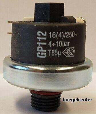 0,5bar voreinst Mater Druckschalter GP600 0,2-3bar G1//8 einstellbar