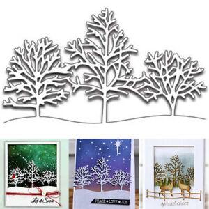 DIY-Christmas-Snow-Tree-Metall-Stanzformen-Schablone-Praege-Craft-Paper-Card-De