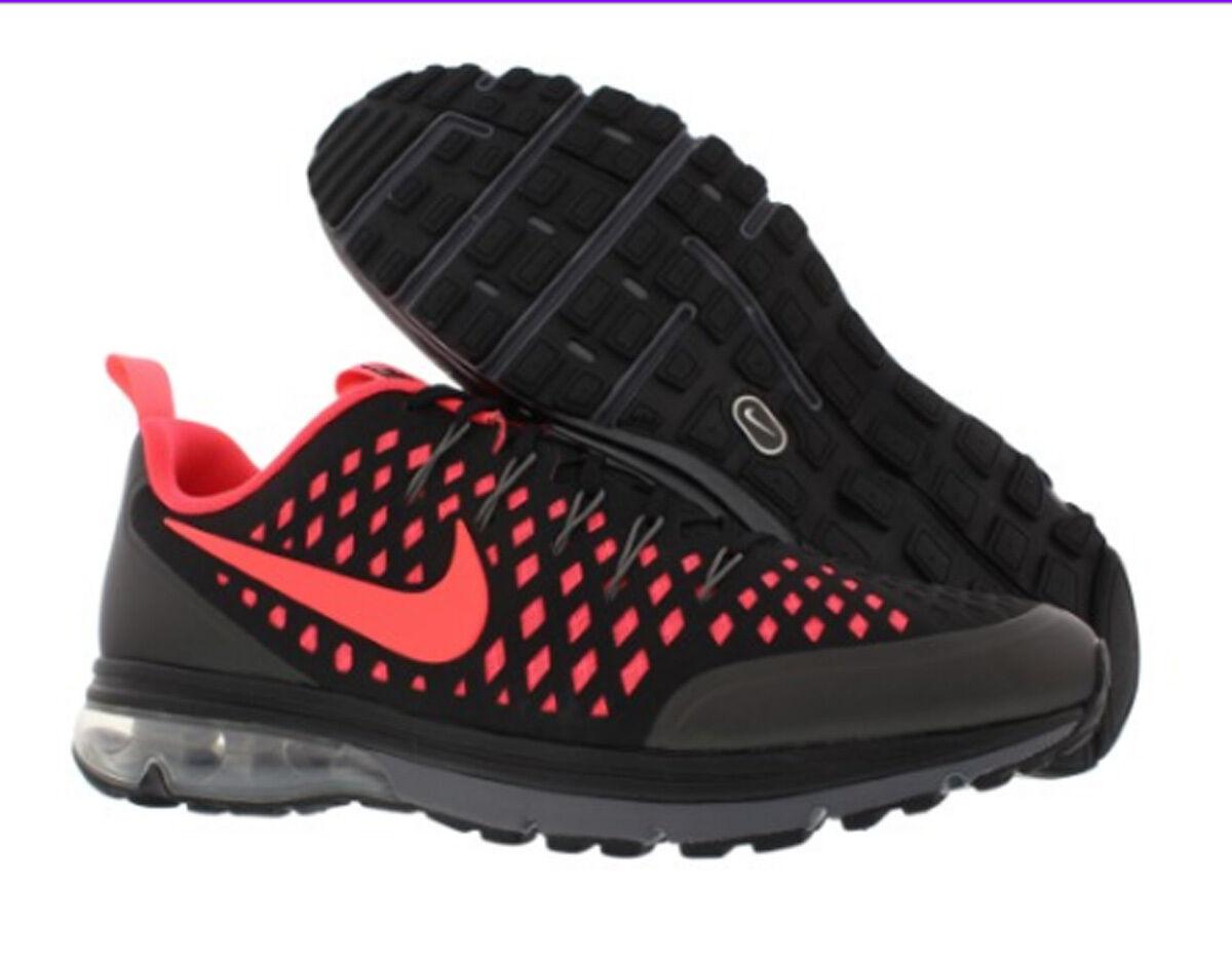 Nike air max supremo 3 uomini scarpe taglia noi 13 nero / infrarosso / grigio scuro