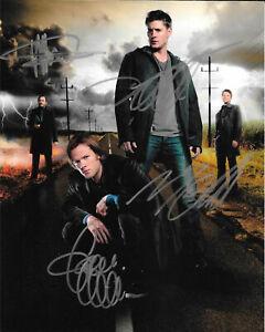 Supernatural-Cast-8-x-10-Autograph-Reprint-Jared-Padalecki-Jensen-Ackles