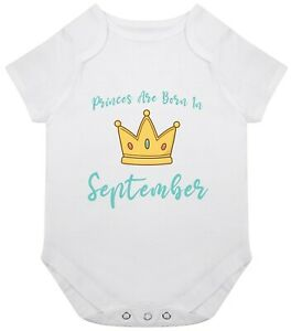 Princess Born November Baby Grow Babygrow Bodysuit Gift New Birthday Girl Month