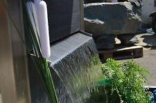 Edelstahl Wasserfall 600 Koi Teich Garten Speier Wasserspiel Bachlauf