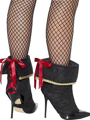 Brillante Donna Pirata Copristivali Donna Bucaniere Accessorio Vestito Ineguale Nelle Prestazioni