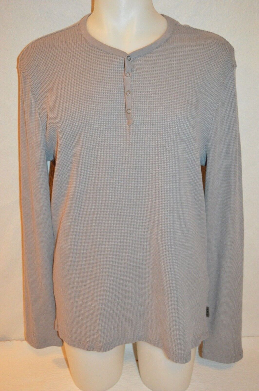 JOHN VARVATOS Star USA Man's Long Sleeve T-shirt NEW Größe Large Retail 128