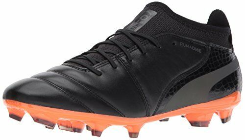 PUMA 10406401 Mens One Lux 2 FG Soccer-Shoes, Black Black-Shocking Orange, 9.5 M Brand discount