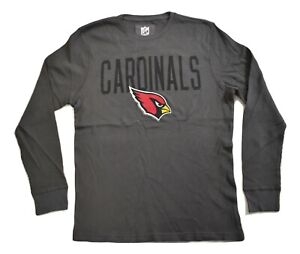 NFL-Team-Apparel-Mens-Arizona-Cardinals-Football-Thermal-Shirt-New-S-M-L-XL