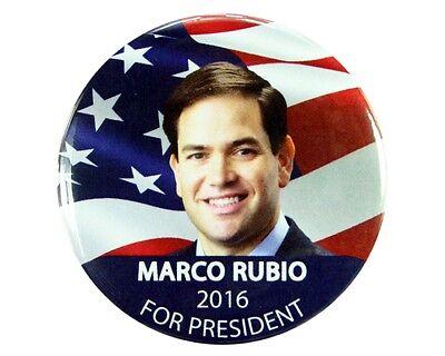 "Marco Rubio for President 2016 2.25/"" CAMPAIGN Pinback BUTTON"