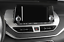 For Nissan Teana Altima 2019-2020 ABS Silver central console Navigation trim 1pc
