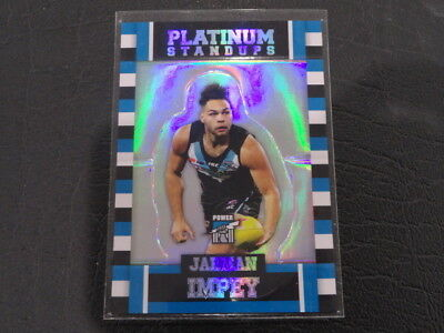 Sports Trading Cards 2017 Afl Select Platinum Standups Ps75 Jarman Impey Port Adelaide 292/375 Sports Mem, Cards & Fan Shop