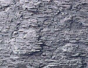 Heki-3137-Felsfolie-Kalkschiefer-40-x-18-cm-2-Stueck-f-alle-Spurweiten-Fabrikneu