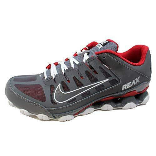 1e17b6a33d42 Nike Reax 8 TR Men s Training Running Shoes Size 10 621716-013 Red Gray for  sale online