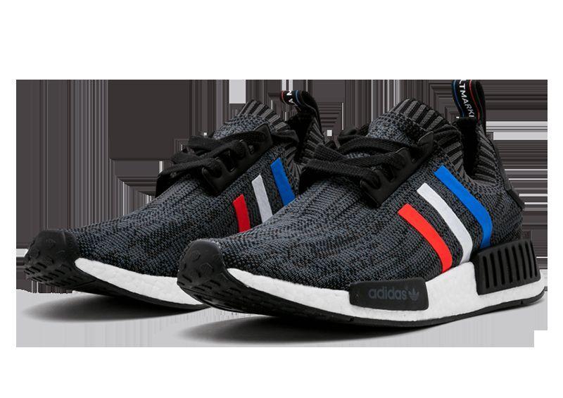 Adidas NMD R1 PK Primeknit Tri Color Black Size 10. 10. Size BB2887 Ultra boost yeezy 6f6b66