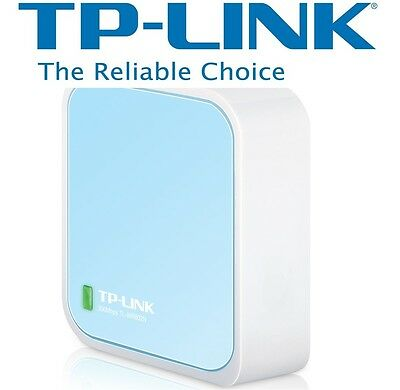 NEW TP-LINK TL-WR802N 300Mbps Portable Travel Wireless WiFi Router Access point