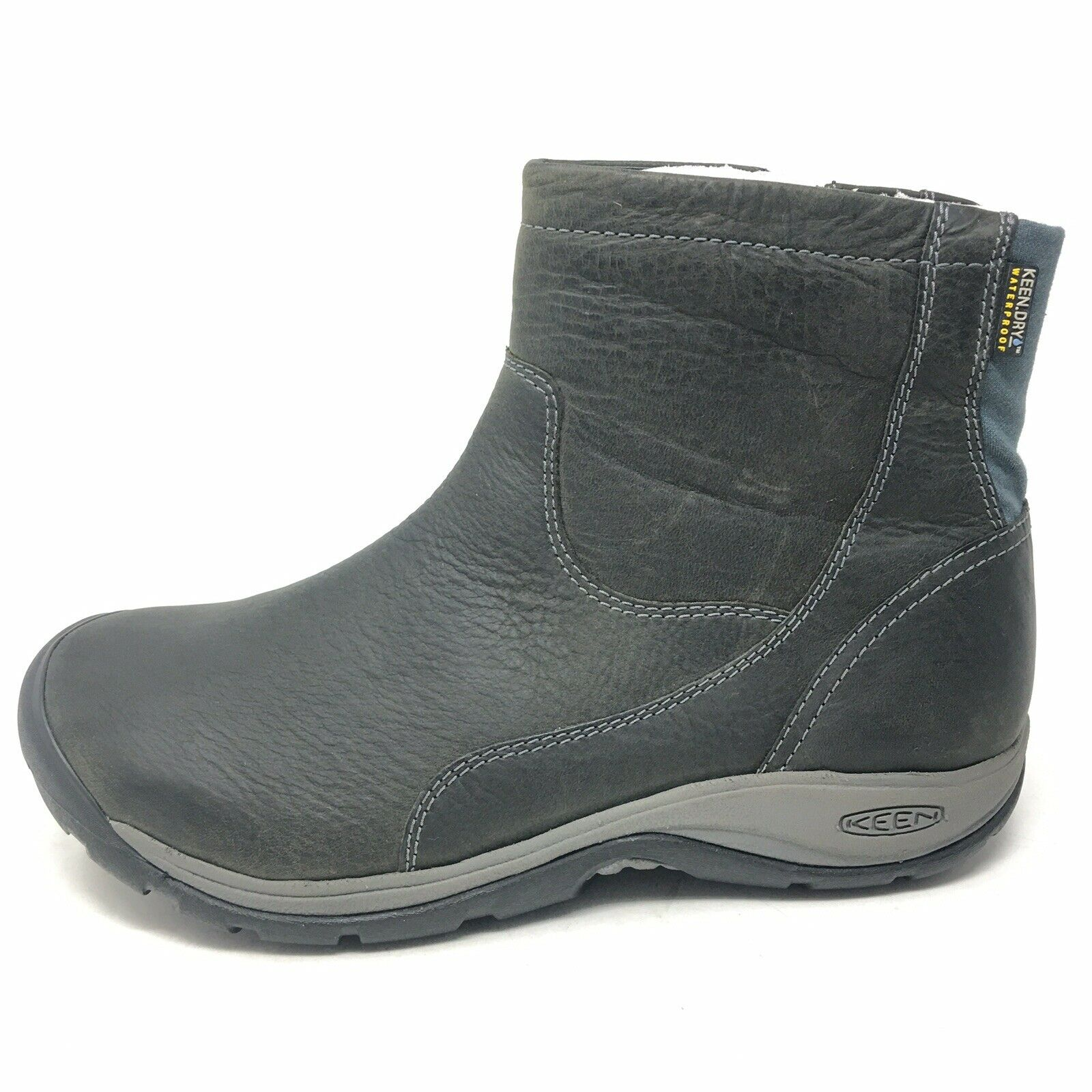 Keen Presidio II Mid Zip Up Waterproof donna 7 M Winter Casual stivali Marroneee  150