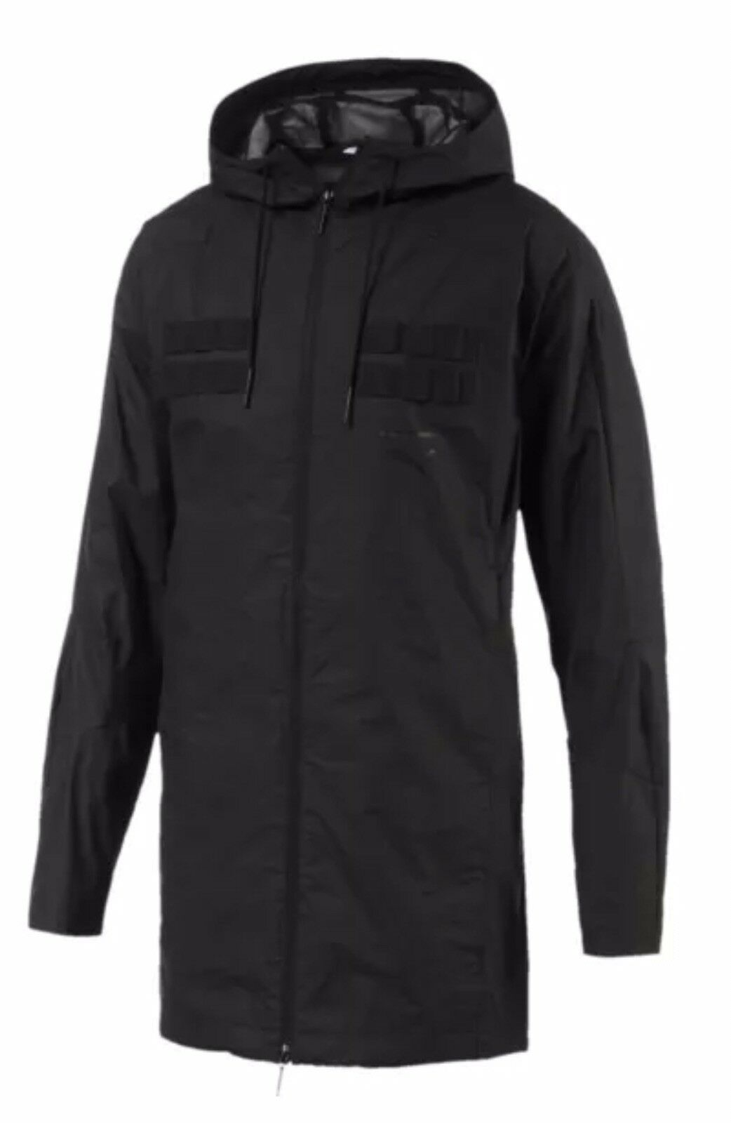 21c756a7d3 Puma Pace LAB Men's Hooded Jacket Coat New 575033-01 Size M and L