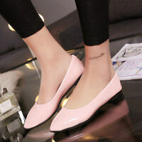 Summer Cute Candy Color Women Girls Casual Ballet Flat Loafers Rubber Boat Shoes