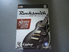 Rocksmith 2014 Edition (PC/Mac)  New & Sealed Box Includes Cable & Stickers