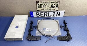 Mercedes Benz W124 Sunroof Arm Bracket + Cable 1247820512,1247820612,1247801389