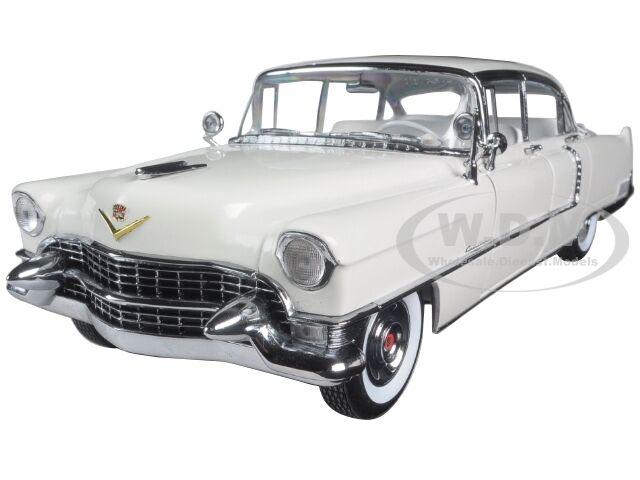 cómodamente 1955 Cadillac Fleetwood Serie 60 60 60 blancoo 1 18 Diecast Modelo Coche verdelight 12936  diseño simple y generoso