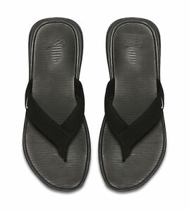 66ee911ae797 Nike Ultra Celso Thong Flip Flops Mens Black white 002 8 for sale ...