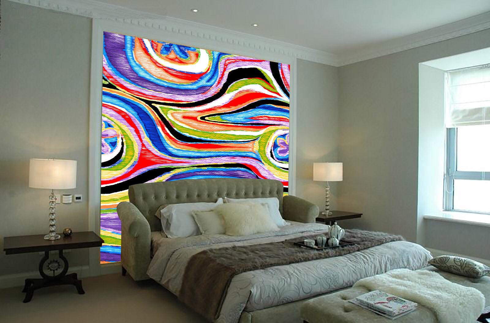 3D Kreativ Aquarell 86 Tapete Wandgemälde Tapete Tapeten Bild Familie DE Summer