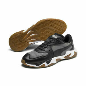 Details about Puma Storm Pulse Black Castlerock Men Lifestyle Sneakers  Limited gym 369796-01 s