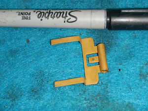MIKUNI CARB FLOAT VALVE ADJUST ARM BRACKET 1983 HUSQVARNA 430 WR