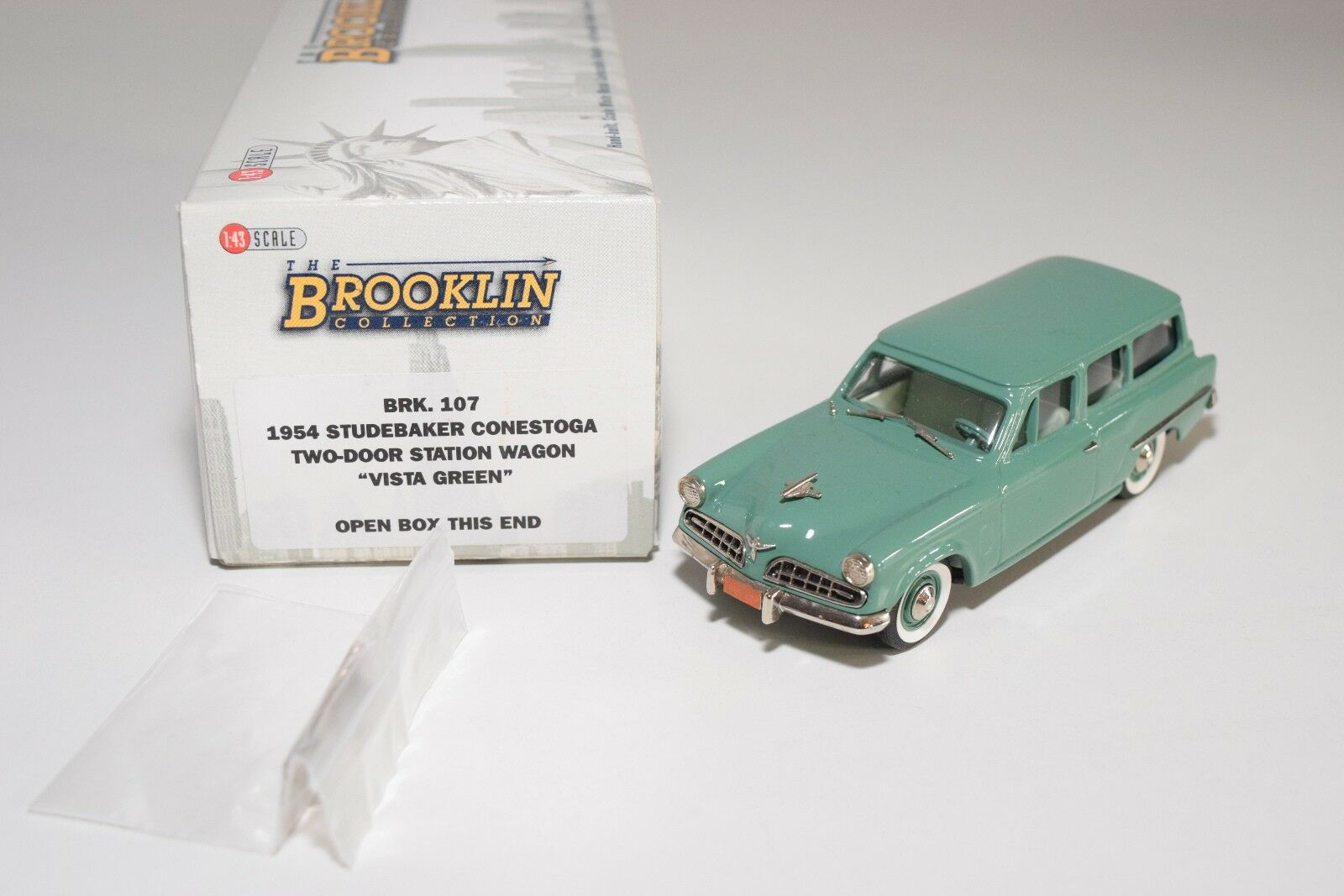 BROOKLIN BRK 107 1954 STUDEBAKER CONESTOGA TWO-DOOR STATION WAGON MINT BOXED