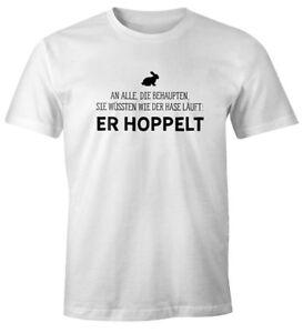 Herren-T-Shirt-Spruch-an-alle-die-wissen-wie-der-Hase-laeuft-er-hoppelt