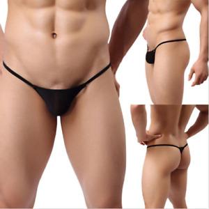 4ae8d67c5a4 Men underwear Low Rise sexy Breathable Bulge Pouch Bikini G-Strings ...