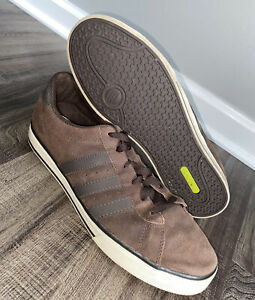 Details about Adidas Mens Neo SE Daily Vulc Skate Shoes Brown U44882 Lace Up Low Top Size 12