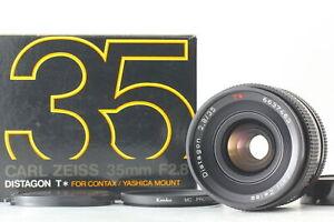 [Near MINT] Contax Carl Zeiss Distagon T* 35mm F/2.8 AEJ MF Lens C/Y JAPAN #B034