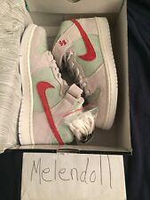 """973b4c424723b9 item 4 Nike SB Dunk Mid Pro QS """"White Widow"""" 420 Size 8 -Nike SB Dunk Mid  Pro QS """"White Widow"""" 420 Size 8"""
