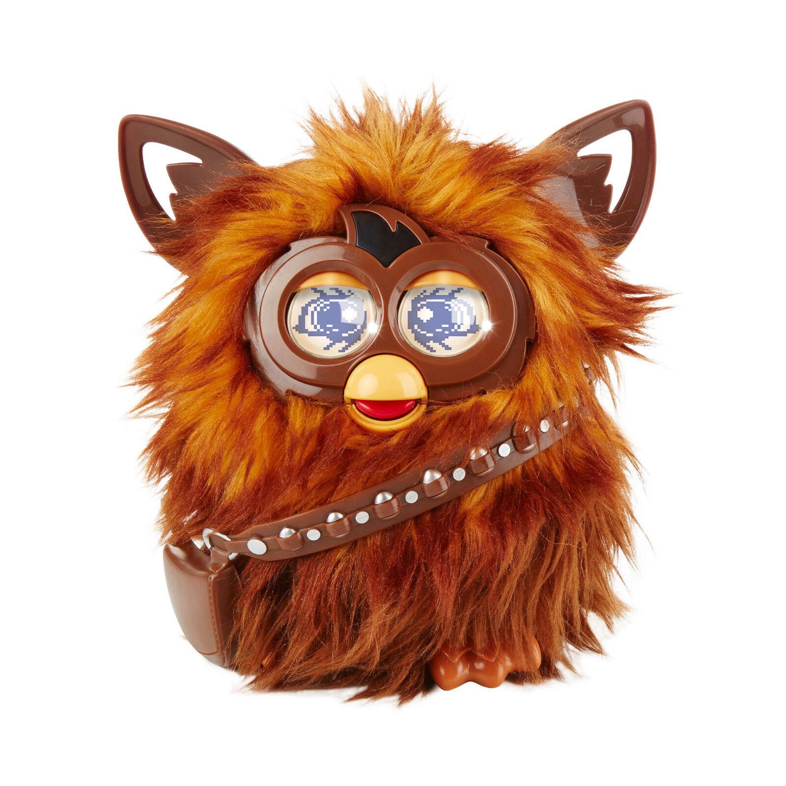 stjärnornas krig Hasbro Furby Furbacca, en Chewbacca -furby, 2015 NY och SEALD i låda