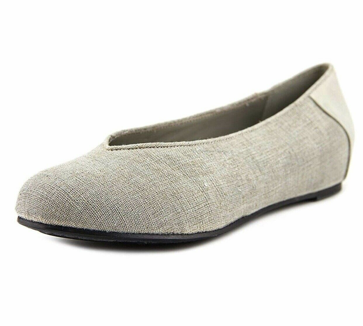 Eileen Fisher Patch 1 Toile Ballerines Femme Taille 5, gris 2237
