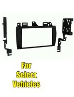Double Din Car Stereo Radio Install Dash Mount Trim Face Kit For Some Cadillac