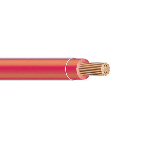 8 Gauge Stranded THHN THWN-2 Copper Building Wire 600V Black Green Red White