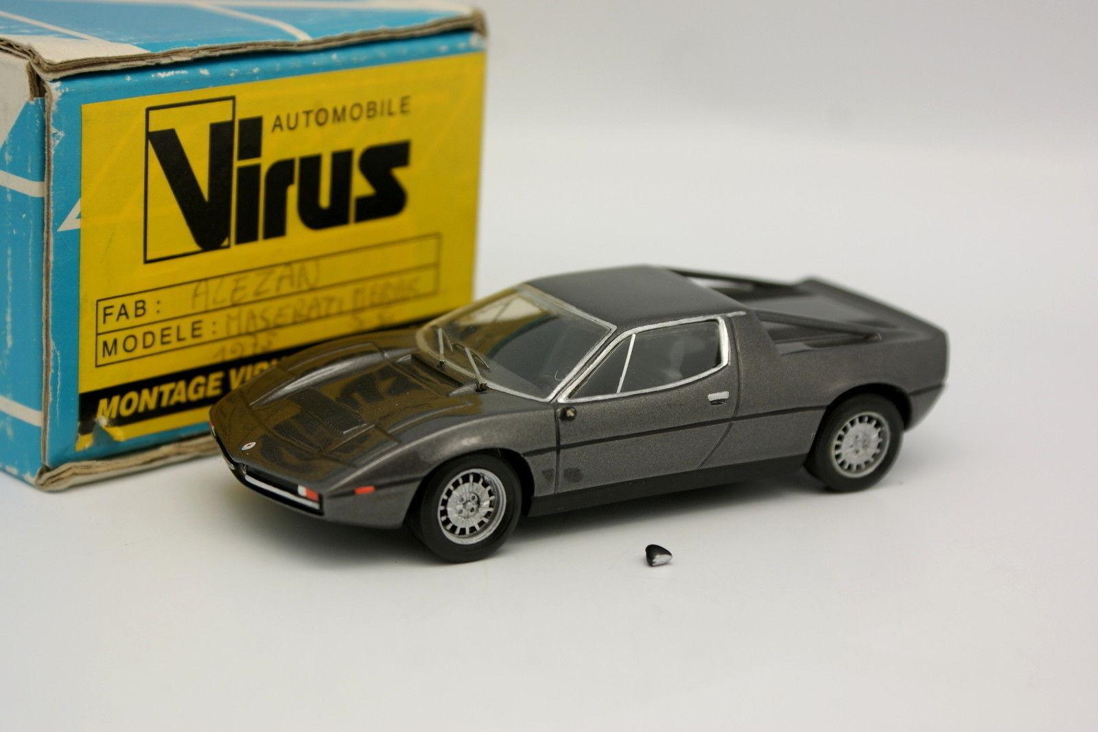 Alezan Kit Assembled Resin 1 43 - Maserati Merak 1978 Grey